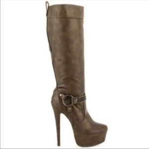 NWT Michael Antonio Knee High Boot